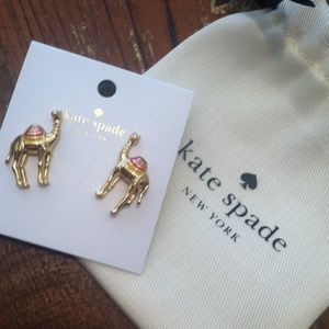 """COPY - NWT """"Kate's Camels"""" Kate spade Earrings w/…"""